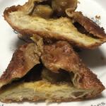 ジュリアンベーカリー - 北海道野菜とチキンのカレー 断面