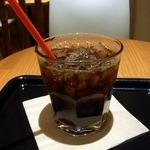 caffe Crocevia - アイスコーヒーです。(その1)