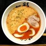 麺彩 味くら - 完熟トマトらーめん+味玉