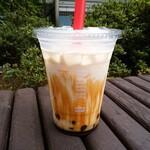 ドトールコーヒーショップ - タピオカ_黒糖ミルク