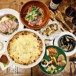 Trattoria Pizzeria Bar FAVETTA - ディナー5000円コース