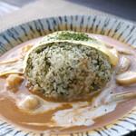 ほんたき山のカフェ - 薬膳カレー根菜
