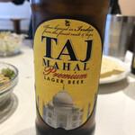 プラバート - サービスで頂いた「Taj Mahal」軽めですが、日本のビールに近い味わい。