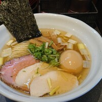 RAMEN火影 produced by 麺処ほん田-特製塩だしRAMEN1,000円税込