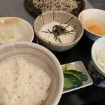 うさぎ庵 - とろろご飯セット ¥970