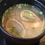 浜田屋 - 味噌汁