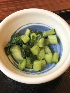 浜田屋 - 野沢菜の漬け物