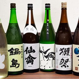 \日本酒・焼酎好き必見/マニアも唸る、銘酒が勢揃い!