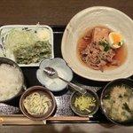 忍庭 - 【'12/05/22撮影】日替わり定食 500円
