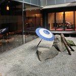 忍庭 - 【'12/05/22撮影】外観の地下1階中庭の風景です