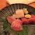 景家 - 料理写真:200912土 長野 景家 造り三種
