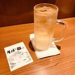 そば田 - ブラックニッカハイボール110円