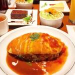 ビージーカフェ - ランチセット1000円