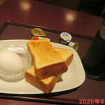 トラジャコーヒー - モーニングセット 390円(税込)