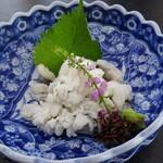先斗町 魯ビン - 鱧のおとし 梅肉醤油