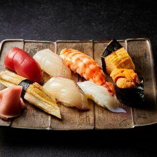 お寿司始めました。その他一品料理も充実しております