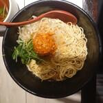 136643983 - 汁なし担々麺(大盛り)