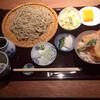 そば季菜 はや川 - 料理写真:えび天どんセット