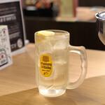 ホルモン酒場 永山 - 角ハイボール