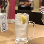 ホルモン酒場 永山 - 翠レモンサワー