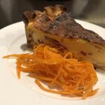ビストロ石川亭 - ベーコンとチーズのキッシュ