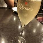 ビストロ石川亭 - スパークリングワイン