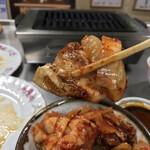 焼肉宝来軒 - 焼肉宝来軒(群馬県藤岡市藤岡)井之頭五郎の真似をして豚キムチ丼を作成