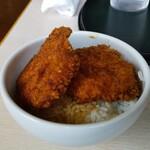麺屋 長衛門 - Aセットのミニカツ丼  180円+税