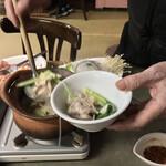 タイレストラン イサーン - タイレストラン イサーン(東京都台東区浅草)チムチュム鍋 1人前