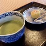 時雨亭 - 抹茶セット お抹茶とお茶菓子
