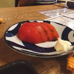 大衆酒場 フタバ - トマトは普通だがん!(笑)