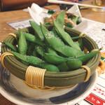 大衆酒場 フタバ - 枝豆 (´ω`)