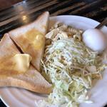 コーヒーハウスK&K - 料理写真:モーニング 390円