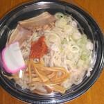 麺屋 花蔵 - 期間限定煮干し油そば(大盛)