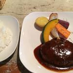 Midsummer Cafe 夏至茶屋 - ハンバーグ