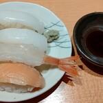 旬菜食健 ひな野 - タイムサービス寿司