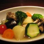 わい和伊 - 彩り野菜のコンソメ煮