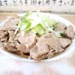 南天 - 肉うどんダブル550円!