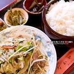 なかや - 料理写真:野菜炒め定食