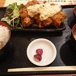 水炊き・焼き鳥 とりいちず - 鶏南蛮定食 5個乗せ 700円
