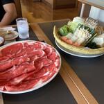 木曽路 - 肉と野菜