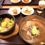 13668470 - ハーフ&ハーフセット(石焼ビビンパ&冷麺)(1260円)