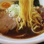 弁当総菜屋 ぐん平 - あっさり正油ラーメンの麺