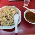 登龍門 - 料理写真:炒飯・大、600円