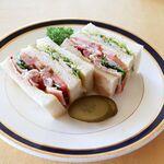 グリル - 料理写真:アメリカンクラブサンドウィッチ