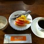 ぷらい夢 - 朝食バイキング デザート