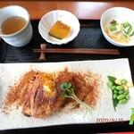 ばじ公園八番 - 料理写真:真鯛のケイジャンムニエル