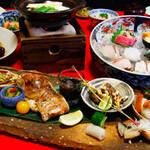 中之島 穂の河 - お昼の会席料理【福コース】