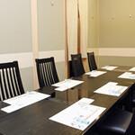 中之島 穂の河 - ※テーブル個室は間仕切りを取り外せますので、団体様にも対応致します。