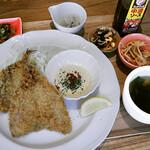 UOKIN PICCOLO - アジフライ定食